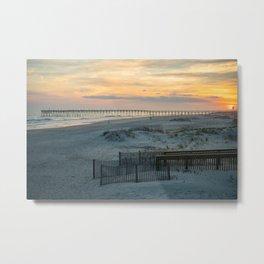 Ocean Isle Beach Metal Print