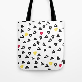 doodle triangles Tote Bag