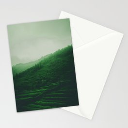 Moody Green Hills in the Summer. Landscape Photography. Stationery Cards