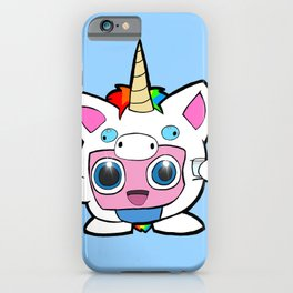 Amber's Jigglypuff iPhone Case