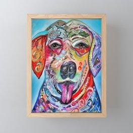 Laughing Labrador Framed Mini Art Print