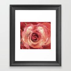 La Virgen de Guadalupe series: Worship of the Rose Framed Art Print