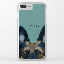 Do It. Clear iPhone Case
