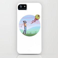 Zombie golf iPhone SE Slim Case