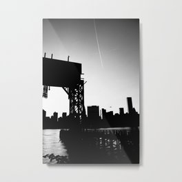 New York City Blackout Metal Print