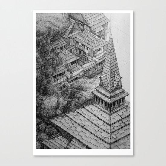 Srinigar. Kashmir Canvas Print
