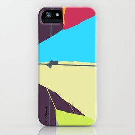 Kite—Aubergine iPhone Case