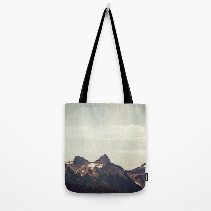 Mountain Ridge Morning Tote Bag