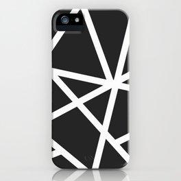 Black Earthquake iPhone Case