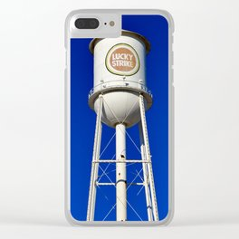 Lucky Strike Water Tower Clear iPhone Case