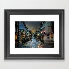 Wet Morning In Kemp Town Framed Art Print