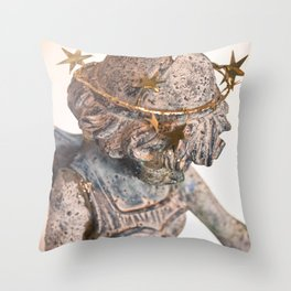 Dreamland Faerie (Lens Flair) Throw Pillow
