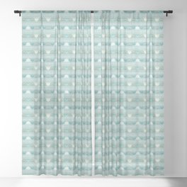Ancient Greece Sheer Curtain