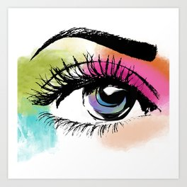 Eyeful Art Print