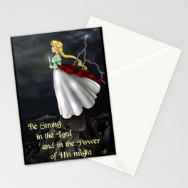 The Stand~Be Strong in the Lord Stationery Cards