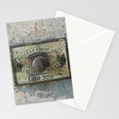 DUMBO Loft Door Lock-Brooklyn, New York Stationery Cards