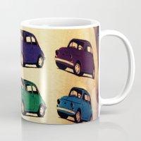 italian Mugs featuring All Italian  by farsidian