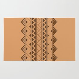 Tribal zigzag triangular pattern Rug