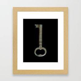 Key to Love Framed Art Print
