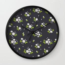 Big Daisy flowers Wall Clock