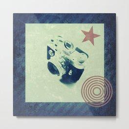 Minox camera Metal Print