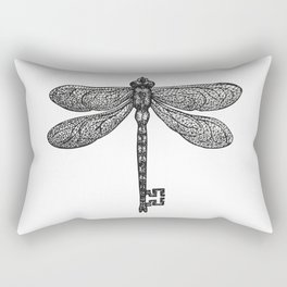The Dragonfly Key Rectangular Pillow