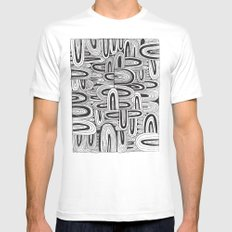 REPEATER MEDIUM White Mens Fitted Tee