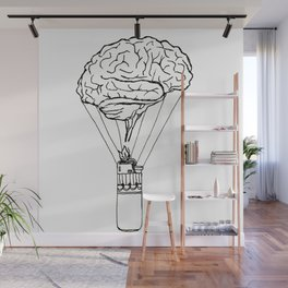Light up my brain Wall Mural