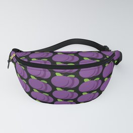 Plums Pattern Fanny Pack