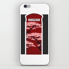 London telebox iPhone Skin