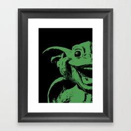 Happy Gargoyle Framed Art Print
