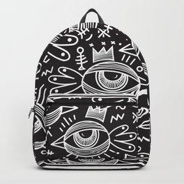Black Birds Eye View Backpack
