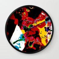 bokeh Wall Clocks featuring Bokeh by Stephen Linhart