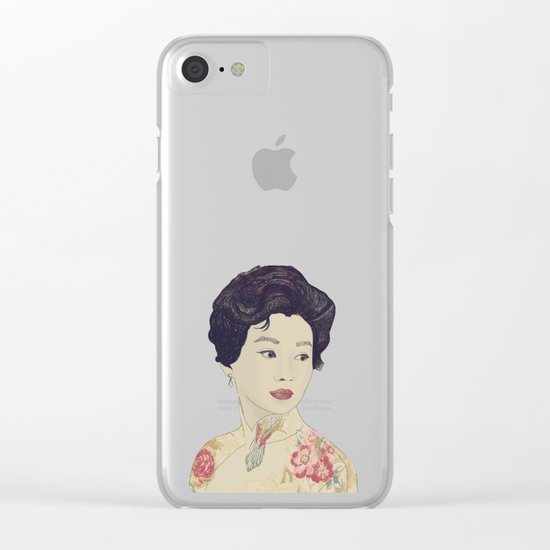 Mrs. Chan Clear iPhone Case