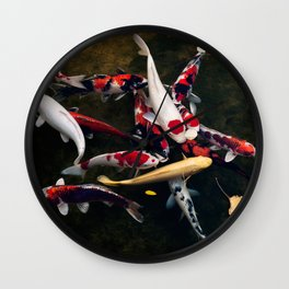 too many to  choose from Wall Clock