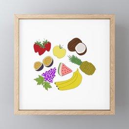 Fruit! Framed Mini Art Print