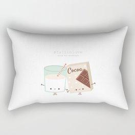 Fall in love - Ingredienti coraggiosi Rectangular Pillow