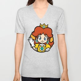 Princess of Sarasaland Unisex V-Neck