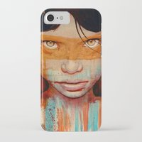 faces iPhone & iPod Cases featuring Pele by Michael Shapcott