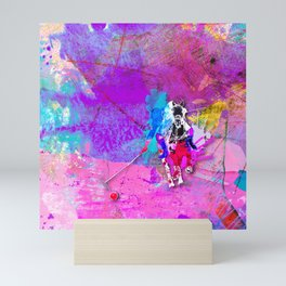 polo_vibrant Mini Art Print
