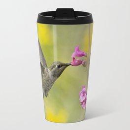 Springtime Hummingbird Travel Mug