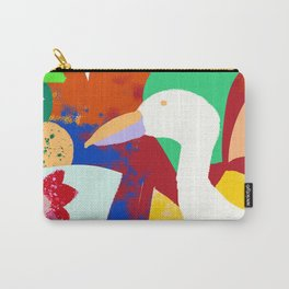 Tropical World Carry-All Pouch