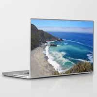 big sur Laptop & iPad Skins featuring Awesome Big Sur by Kristie Anderson