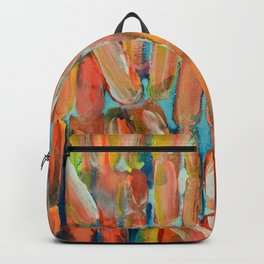 Coral Night of Sugarcane Backpack