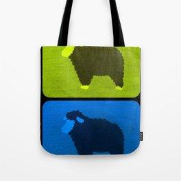 Mixed Sheeps Tote Bag