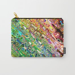 Colorful Glass Abstract Carry-All Pouch