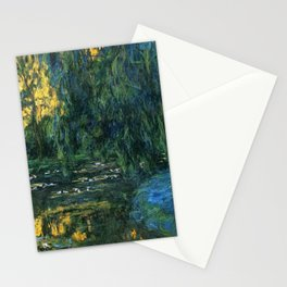 Claude Monet Dark Water  Lilies Stationery Cards
