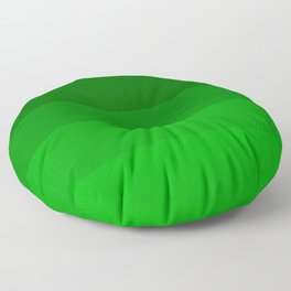 Irish Kelly Green Ombre Stripes Floor Pillow