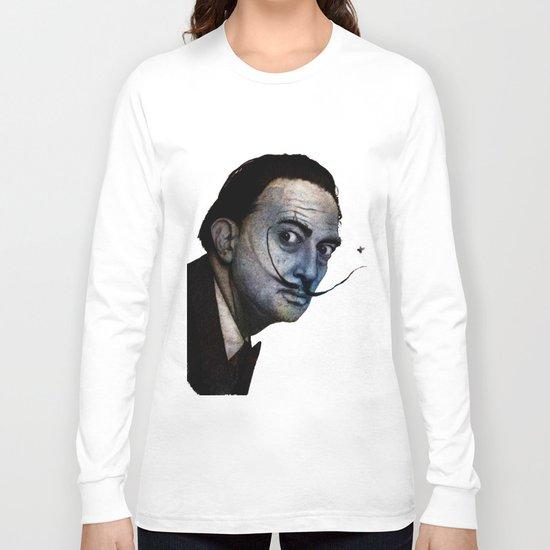Salvador Dalí. (colored version) Long Sleeve T-shirt