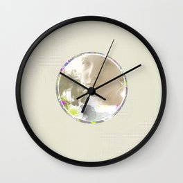 Bride - White Wall Clock